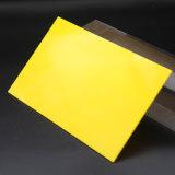 Feuille acrylique transparente de plexiglass
