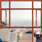Windows di alluminio, sceglie la finestra appesa, singola finestra appesa di colore bianco ricoperta polvere