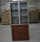 Bookcase полки офиса 5-Tier двери офисной мебели деревянный 2