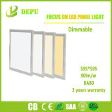 Luz del panel montada superficial al por mayor de SMD2835 Dimmable LED 40W 600*600 90lm/W con el Ce, TUV, SAA