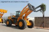 Jgm761FT28K de Lader van de Vorkheftruck van 28 Ton met de Vork van de Pallet voor Verkoop