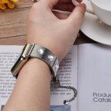 Diamond bracelete de aço para Apple, assista a alça para vigilância da Apple