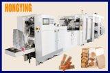 Alto nivel exportado V la parte inferior de la bolsa de papel que hace la máquina, la velocidad de 500 piezas un minuto.