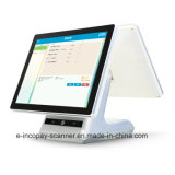 """Icp-Ew10s alta calidad de pantalla táctil capacitiva de doble caja registradora para POS supermercado/Sistema/restaurante/Retail (15""""+15"""")."""