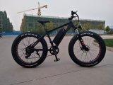 رخيصة [شنس] [48ف] [750و] 26*4.0 بوصة إطار العجلة سمين كهربائيّة ثلم درّاجة مع [لغ] [ليثيوم بتّري]