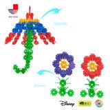 OnderwijsSpeelgoed van de Kinderen van de Sneeuwvlok van Colorfully het Plastic