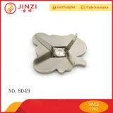 Form-weicher Decklack-kundenspezifisches Metallfirmenzeichen für Beutel-Teile