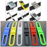 Cinghia universale dell'elastico della torcia elettrica della torcia della bicicletta del supporto del supporto della barra della maniglia