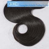 Черных волос категории 7А бразильский волос человека