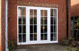 Puerta francesa de aluminio del diseño de la parrilla