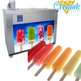 Máquina comercial del Popsicle con 4 moldes de los conjuntos