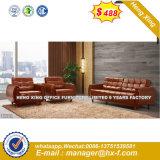 $288 Best-Selling moderna sala de estar 1+2+3 sofá de couro (HX-S352)