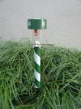 소성 물질 태양 Halloween 정원 빛 LED 장식적인 태양 정원 램프