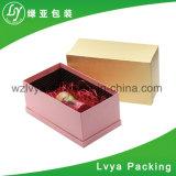 Caixa de empacotamento de papel dos doces da caixa do chá da caixa do chocolate da caixa de presente da caixa da câmara de ar de papel luxuosa do vinho