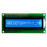 Schrifttyp 1601 der LCD-Bildschirmanzeige-FSTN PFEILER gelbgrüne Baugruppe der Hintergrundbeleuchtung-5V LCD