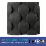 Scheda acustica di riduzione del suono della fibra di poliestere di alta qualità