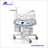 Incubadora infantil do bebê do equipamento médico com indicador do LCD (cuidado 5G do bebê)
