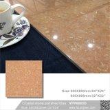 Piso de piedra cristalina de materiales de construcción para la decoración de mosaico (VPP6009D, 600x600mm, 800x800mm)