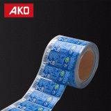 Selbstklebende Aufkleber-Kennsatz-Flasche beschriftet thermisches Papier