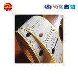 Het Etiket van de Sticker van de Markering RFID met Vrije Steekproef