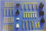 カスタム押す男性および女性の真鍮の電気ターミナル(HS-DZ-0044)を