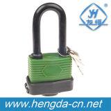 La couverture en plastique Dustyproof de Yh9109 40mm a feuilleté le cadenas de fer avec des clés