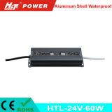 24V 2.5A는 세륨 RoHS Htl 시리즈를 가진 LED 전력 공급을 방수 처리한다