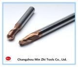 固体炭化物CNCの切削工具の球の鼻の端製造所