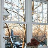 Nouveau design en verre de prix bon marché de gros de la fenêtre en aluminium
