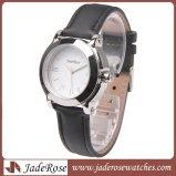 Silberne Luxuxfrauen-Kleid-Uhr, GroßhandelsEdelstahl-Armbanduhr