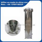 De oppoetsende Huisvesting van de Filter van de Patroon van het Roestvrij staal met Snelle Flens voor Vloeibare Filter