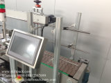 Máquina de etiquetas lateral dobro automática cheia da etiqueta para a cubeta da pintura