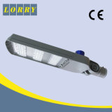 セリウムの証明書のフィリップスLEDチップが付いている100W LEDの街灯棒フィッターおよび光電池が付いている保証5年の