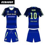 Pullover all'ingrosso di calcio della Cina, abiti sportivi poco costosi della Cina di sublimazione, kit uniformi Cina di gioco del calcio poco costoso su ordinazione