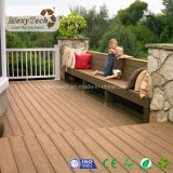 Decking di legno composito della pavimentazione WPC di nuova struttura di legno di disegno