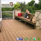 Neuer hölzerner Beschaffenheits-Fußbodenbelag--zusammengesetzter hölzerner BodenbelagWPC Decking
