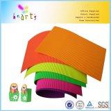 Fabrication fluorescente de papier ondulé de qualité