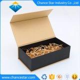 Livre personnalisé en forme de boîte en carton recyclé avec fermeture magnétique