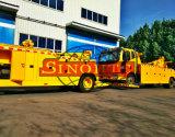 기중기 구조차 FAW 기중기 8 톤을%s 가진 무거운 구조차 트럭