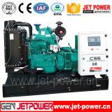 тепловозный двигатель дизеля генератора Cummins комплекта генератора 40kw открытый