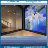 La seguridad Aislamiento Acústico de una manera de vidrio para el cuarto de baño