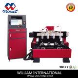 4つのスピンドルCNCの木版画機械(VCT-1525FR-4H)