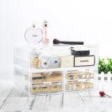 360 graad die de Kosmetische Organisator van de Make-up van de Doos van de Opslag van het Rek van de Vertoning Spinnende roteren