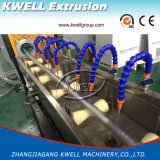 Производственная линия шланга стального провода PVC усиленные прозрачные/машина штрангя-прессовани