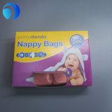 طازج طفلة رائحة بلاستيكيّة حفّاظة كيس حقيبة
