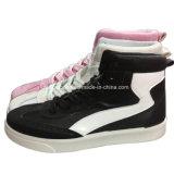Отдых впрыски женщин высокого качества обувает фабрику ботинок конька (YJ1216-13)