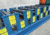 Roulis en acier de panneau de toit de feuille de profil formant la tuile faisant la machine