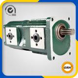Circuit hydraulique de pompe à engrenages double