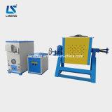 Horno fusorio de la inducción de pequeña capacidad del uso del laboratorio para la fusión del metal