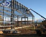 O baixo custo pré-fabricado Seel o hangar dos aviões da estrutura